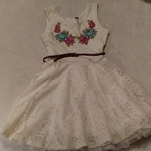 Beautees girls dress, size 12